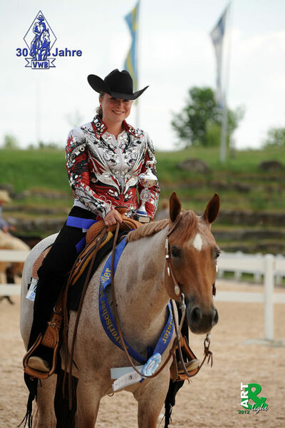 Good But Hot - Bavarian Champion VWB Western Pleasure Open 2012