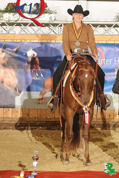 Sweet Hot Revolution - Reserve International German Champion Ranch Horse Pleasure Open - Aachen, 2012